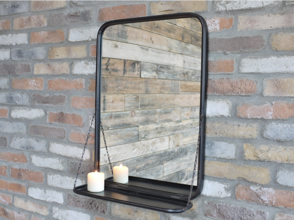 Urban Mirror Shelf