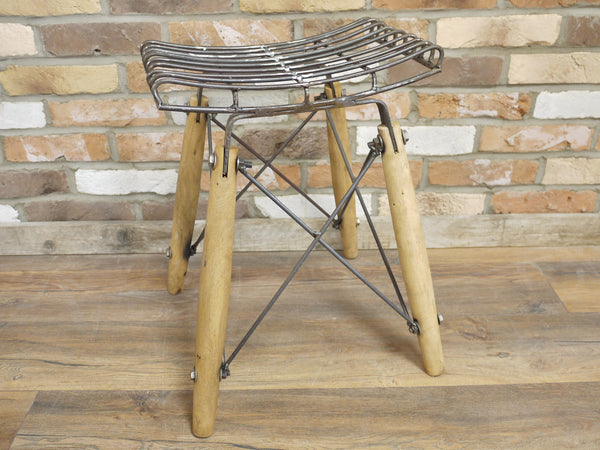 Industrial Wire Stool