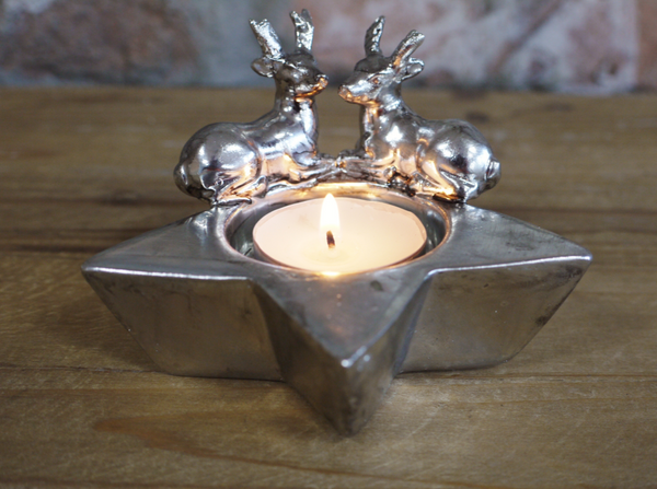 Stag T Light Holder