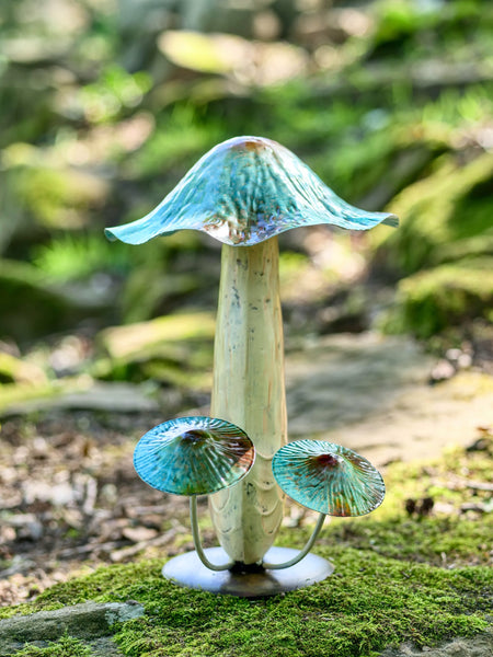 Large Blue Toadstool