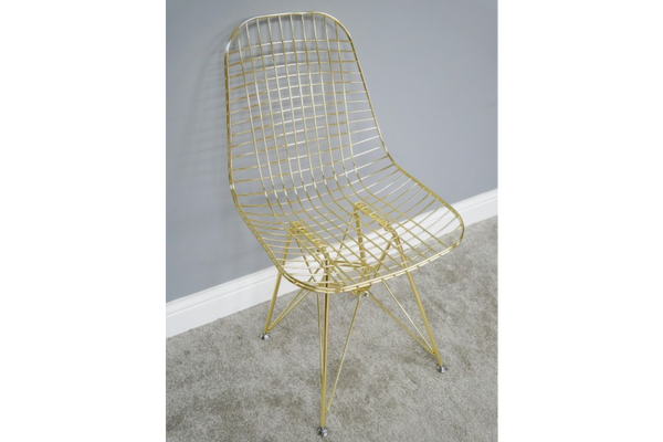 Stylish Gold Chair