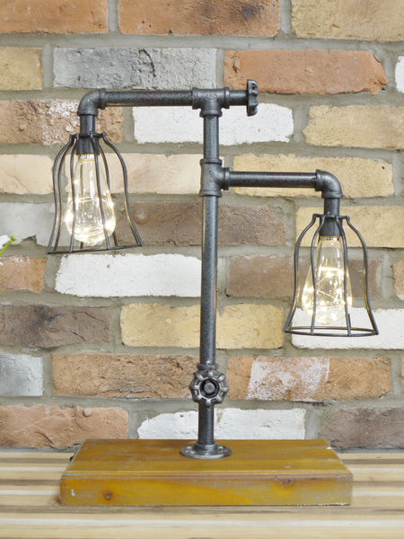 Double Industrial Lamp