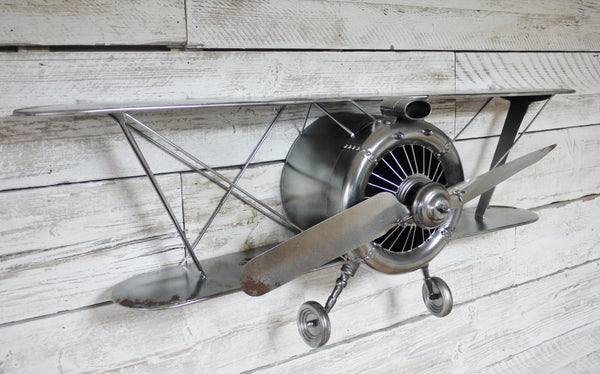 Retro Aeroplane Wall Decor