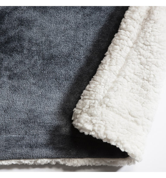 Soft Grey Throw