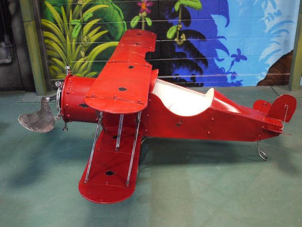Large Red Aeroplane