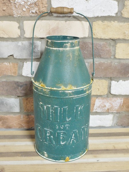 Distressed Milk Churn