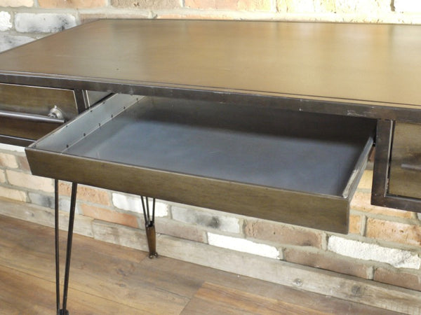 Retro Metal Desk