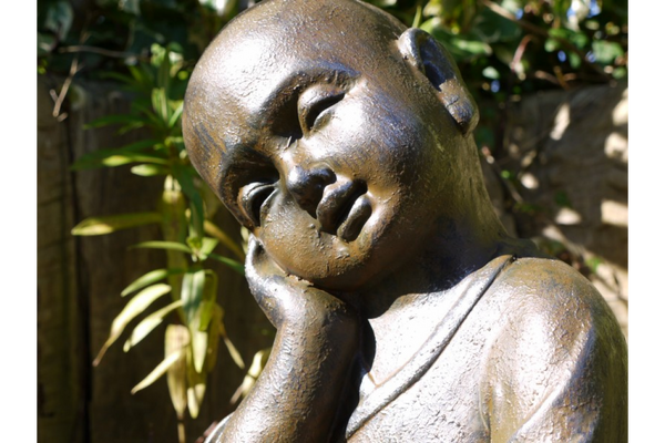 Sleeping Monk Ornament
