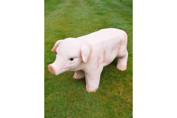 Quirky Pig Stool