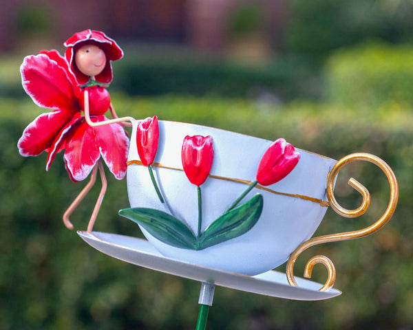 Tulip Cup Bird Feeder