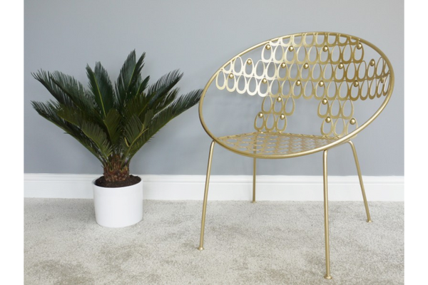Gold Chair