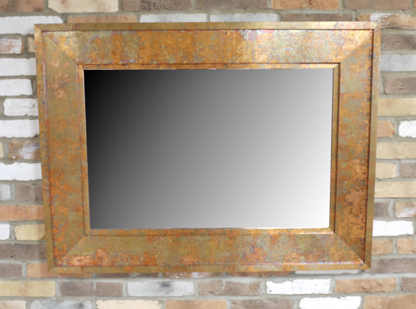 Large Copper Mirror