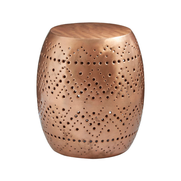 Copper Drum Stool