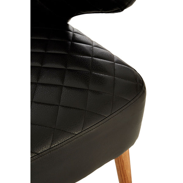 Black Retro Armchair