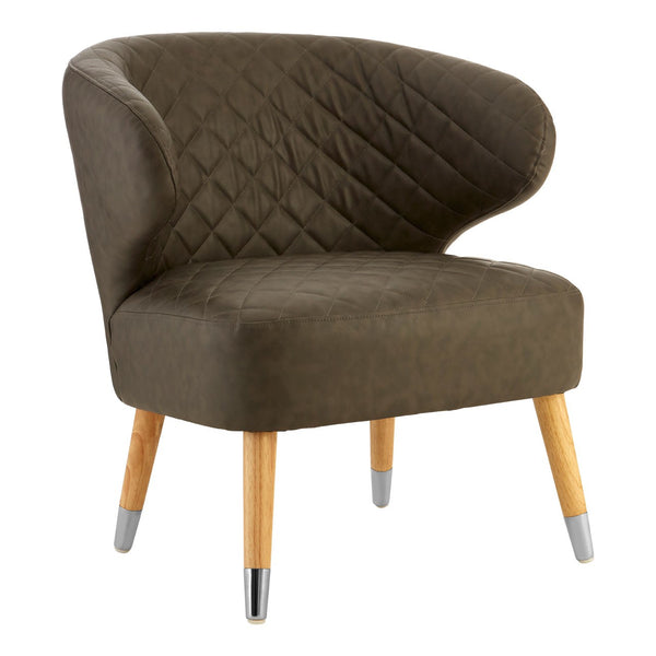 Brown Retro Armchair