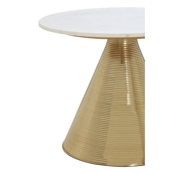 White Marble Martini Table