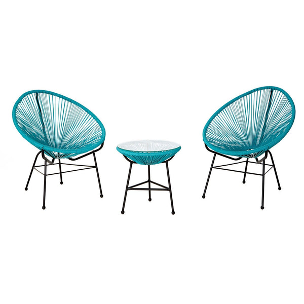 Miami Table & Chairs Set