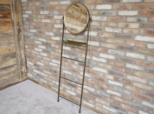 Bathroom Mirror Ladder