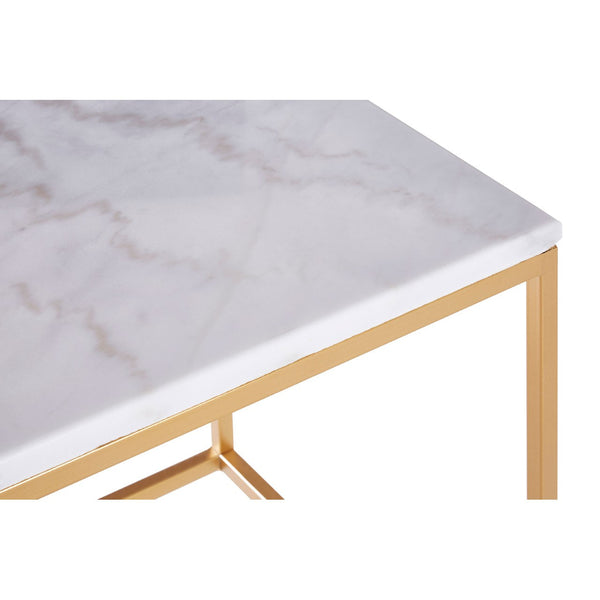 Set of 2 Marble Tables