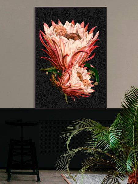 Large Pink Protea Wall Hanging