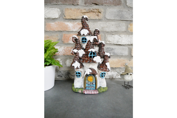 Large Pine Cone Fairy House