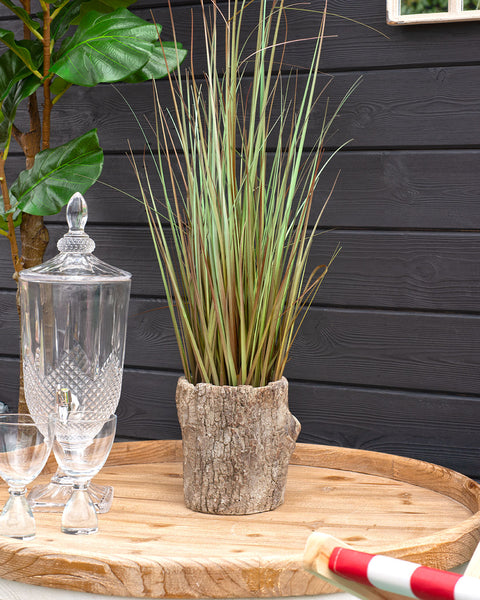 Small Log Planter