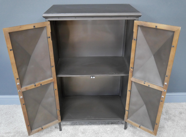 Industrial Hex Cabinet