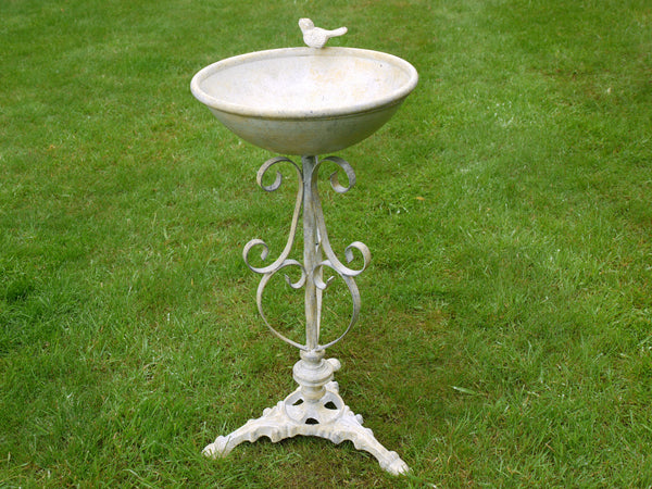 Standing Bird Bath ,  - Olive and Sage, Olive and Sage  - 2