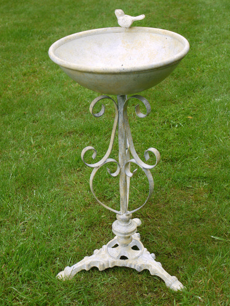 Standing Bird Bath ,  - Olive and Sage, Olive and Sage  - 1