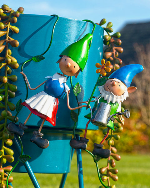Pair of Gnome Pot Hangers