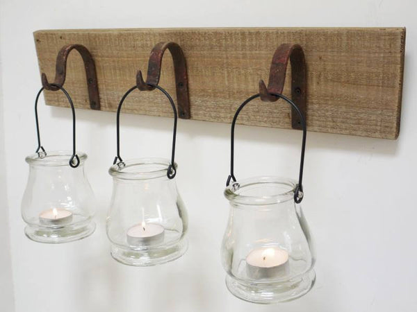 Hanging T Light Holder ,  - Olive and Sage, Olive and Sage