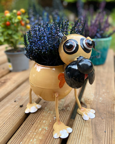 Piglet the Pug Planter