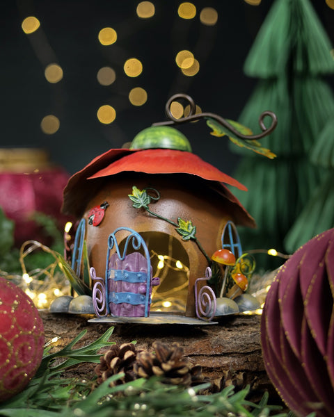 Poppy Fairy House