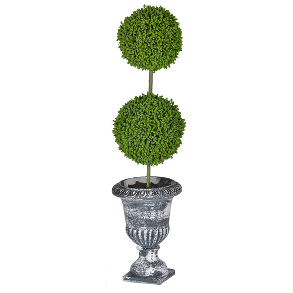 Potted Faux Topiary