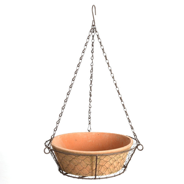 Terracotta Hanging Basket