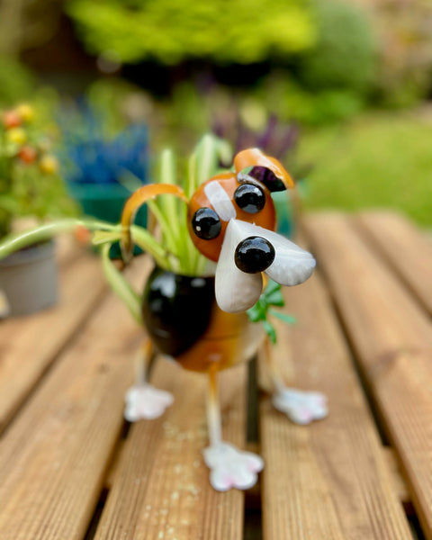 Betty the Beagle Planter
