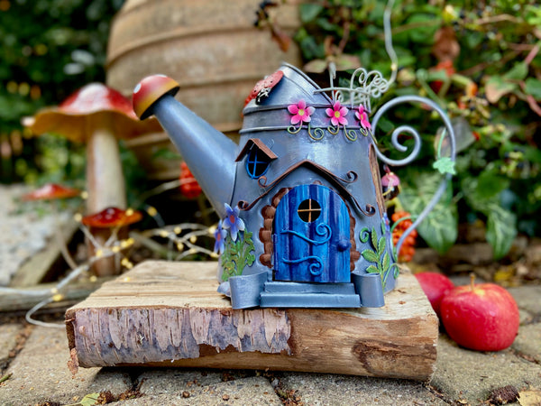 Fairy Watering Can House