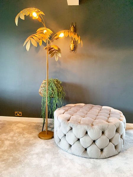 Tropical Palm Floor Lamp