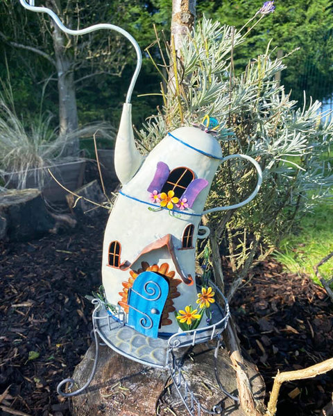 White Fairy Teapot House