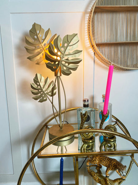 Cheese Plant Table Lamp