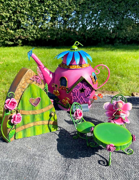 Pink Fairy Teapot House
