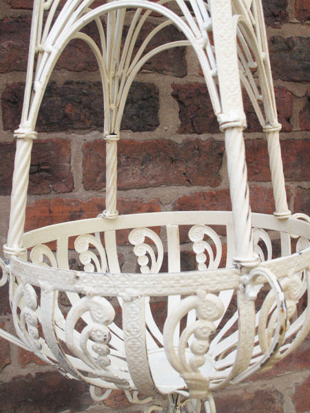 Ornate Hanging Basket ,  - Olive and Sage, Olive and Sage  - 2