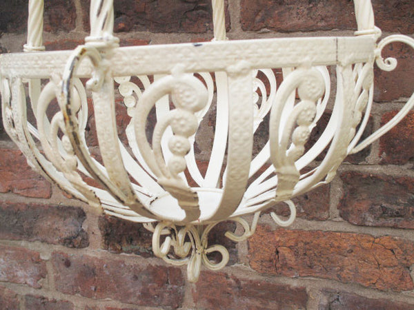 Ornate Hanging Basket ,  - Olive and Sage, Olive and Sage  - 3