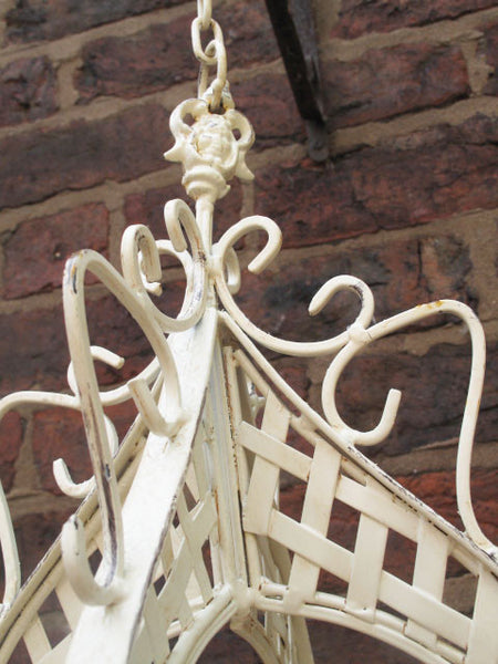 Ornate Hanging Basket ,  - Olive and Sage, Olive and Sage  - 5