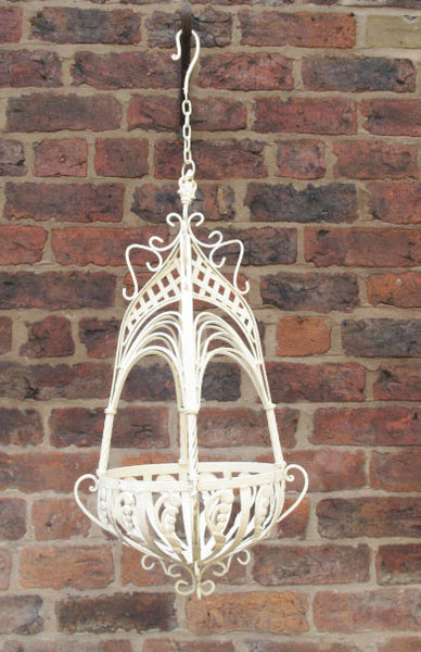 Ornate Hanging Basket ,  - Olive and Sage, Olive and Sage  - 6