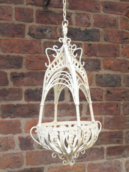 Ornate Hanging Basket ,  - Olive and Sage, Olive and Sage  - 7