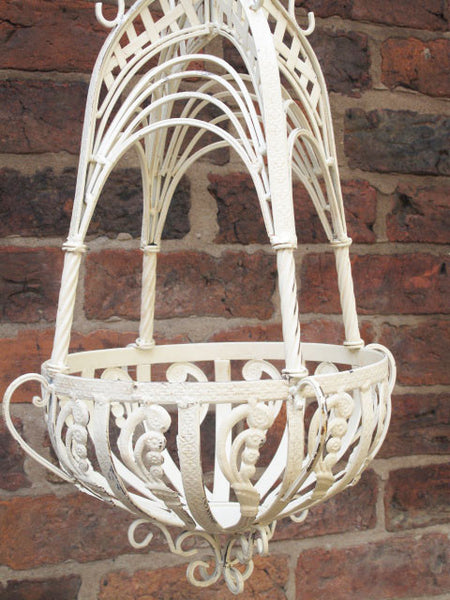 Ornate Hanging Basket ,  - Olive and Sage, Olive and Sage  - 8