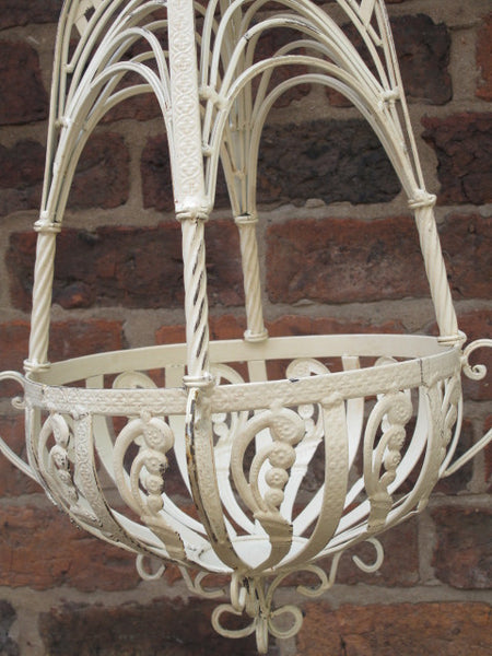 Ornate Hanging Basket ,  - Olive and Sage, Olive and Sage  - 9