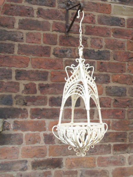 Ornate Hanging Basket Large,  - Olive and Sage, Olive and Sage  - 10