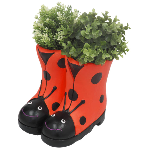Red Ladybird Boots